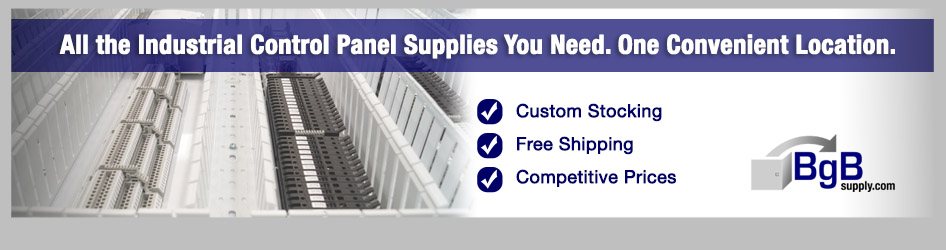 Get all of your industrial control panel supplies from BgBsupply.com