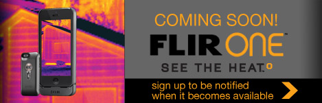 FLIR ONE- Coming soon to BgB Supply