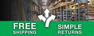 BgB Supply offers free shipping on most items and simple returns!