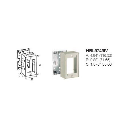Hubbell HBL5745IV