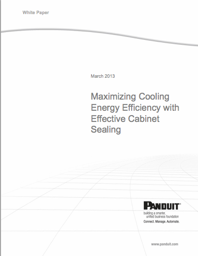 Panduit Control Panel Optimization white paper