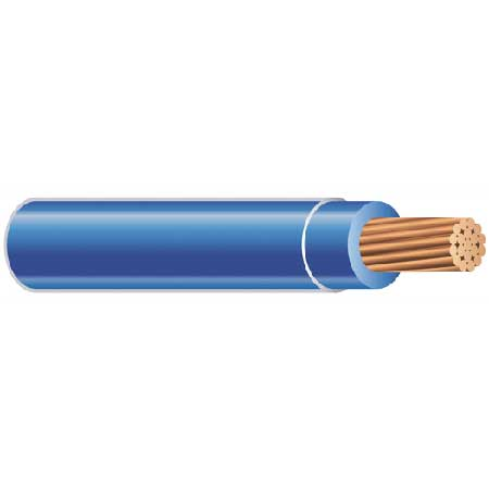 WIRE-THHN10SOLBLUE-0500
